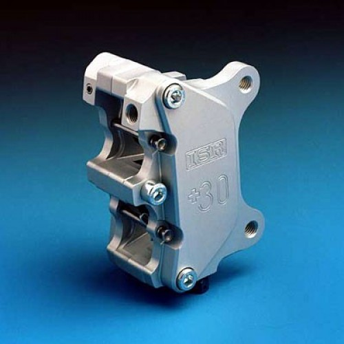 Etrier avant 4 pistons ISR entraxe fixation 89mm