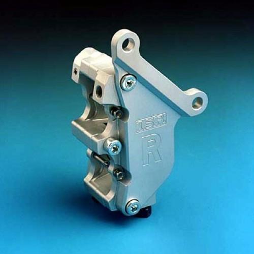 Etrier avant 4 pistons ISR entraxe fixation 87,4mm