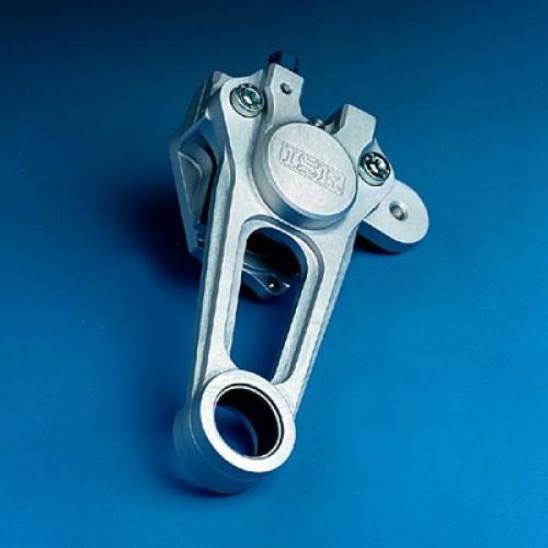 Etrier avant 2 pistons ISR pour disque de 254mm