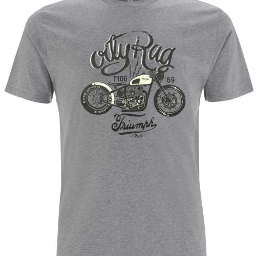 """T-shirt Oily Rag """"Triumph"""""""