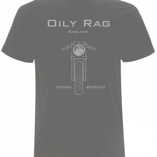 """T-shirt Oily Rag """"Cafe Racer"""""""