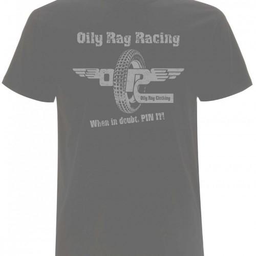 "T-shirt Oily Rag ""Pin It"""