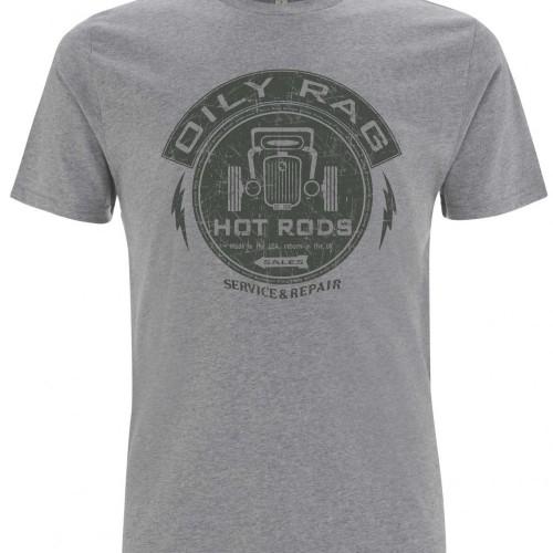 "T-shirt Oily Rag ""Hot Rod"""