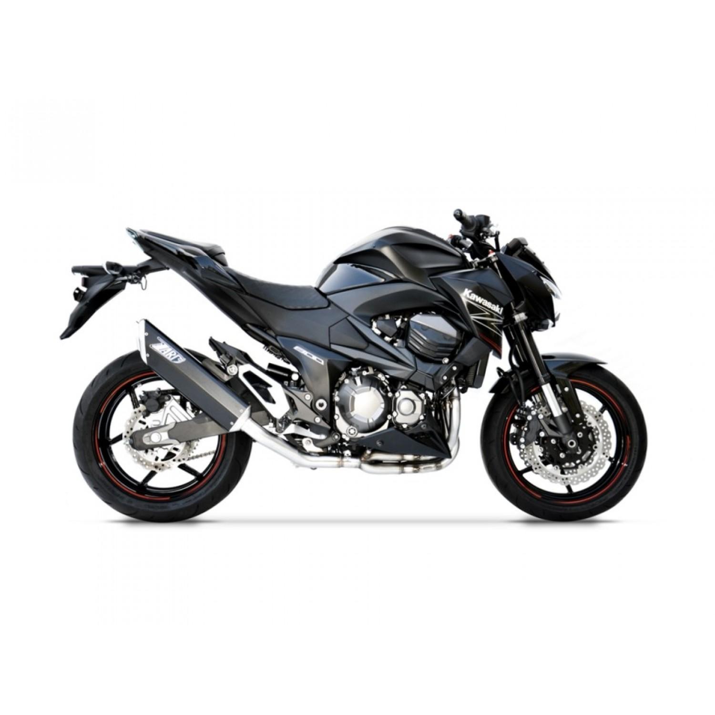 silencieux zard penta racing z800 kawasaki krax moto. Black Bedroom Furniture Sets. Home Design Ideas