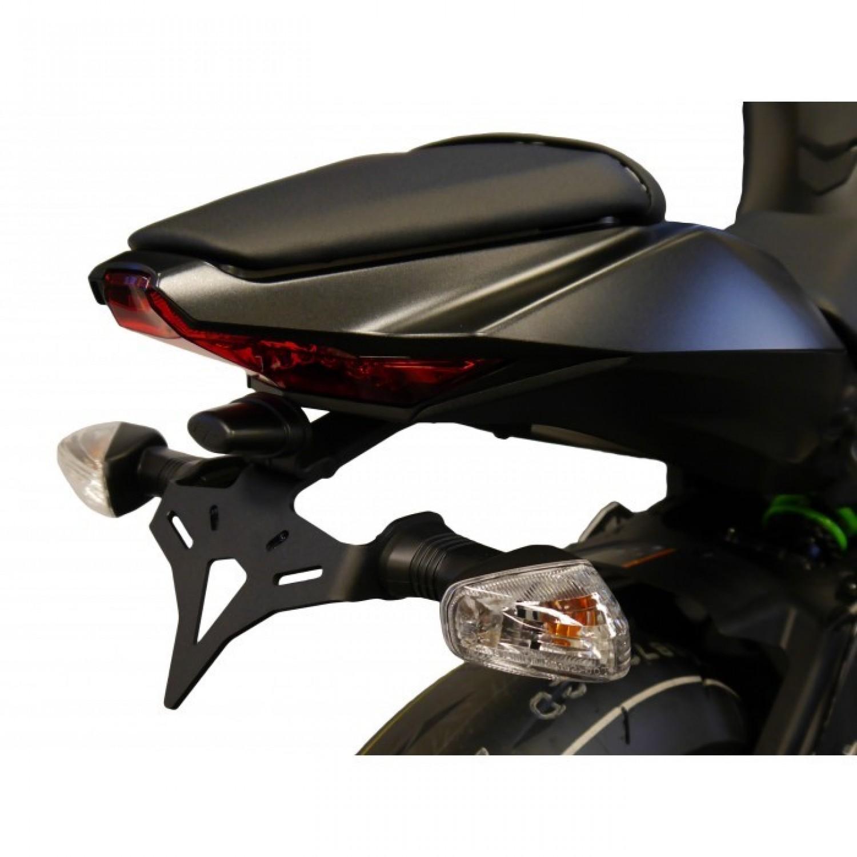 support de plaque evotech performance zx10 r 2016 kawasaki krax moto. Black Bedroom Furniture Sets. Home Design Ideas