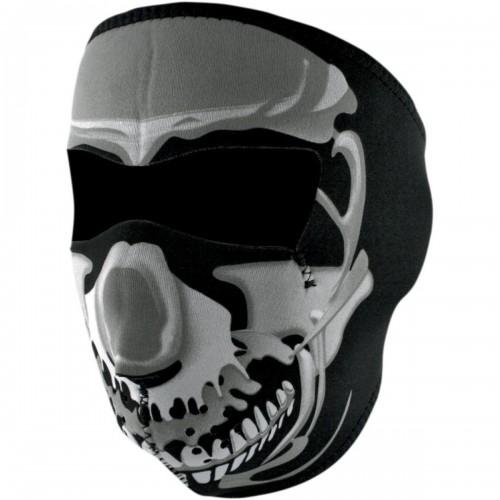 Full face mask Skull Chrome ZAN