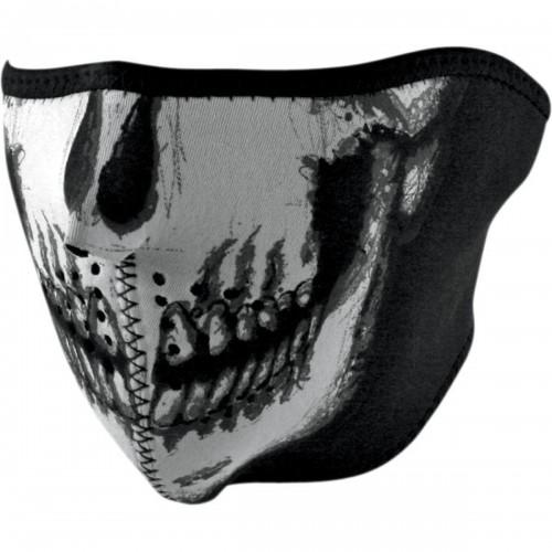 Face mask Skull Chrome ZAN