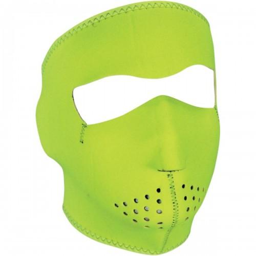 Full face mask Jaune fluo ZAN