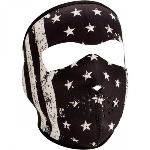 Full face mask Vintage Flag ZAN