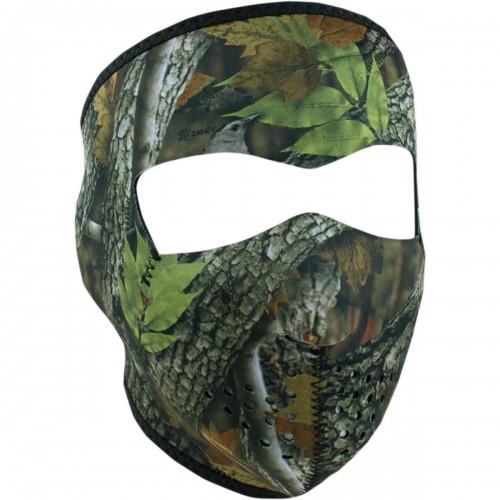Full face mask Forest Camo ZAN