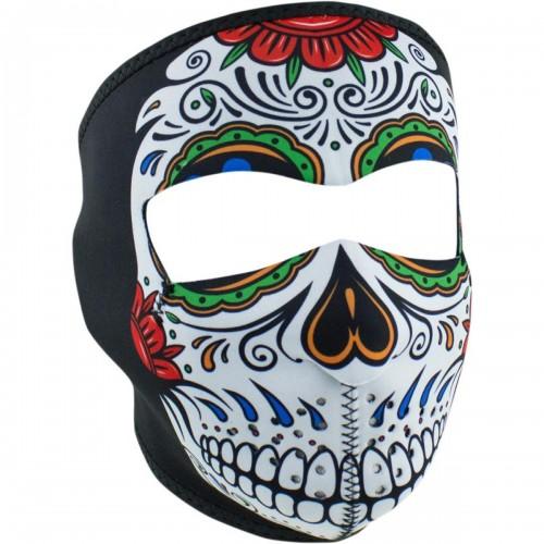 Full face mask Muerte Skull ZAN