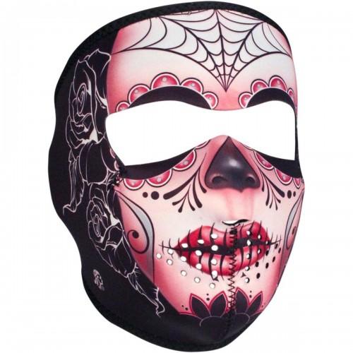 Full face mask Sugar Skull ZAN