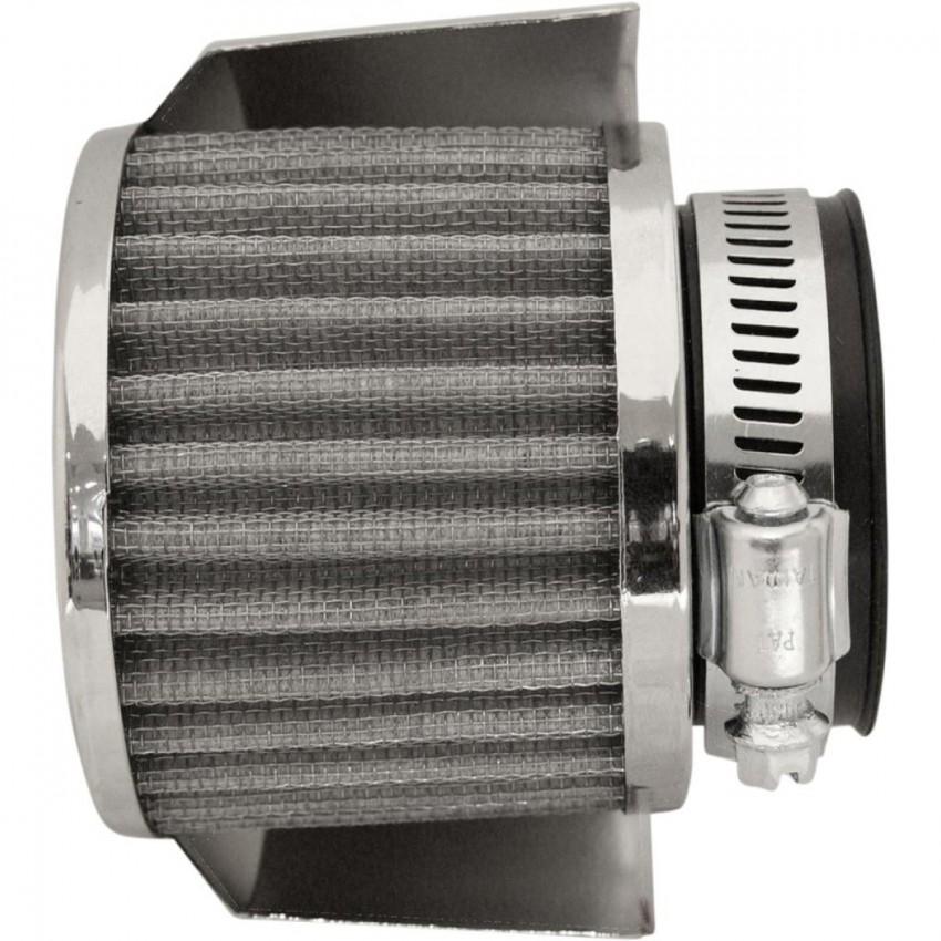 Filtre à air cornet EMGO D.45/95mm L.70mm avec protection