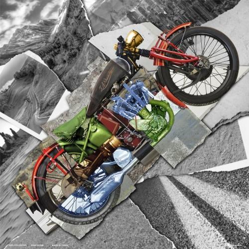 Bandana Deluxe Motorcycle Montage ZAN