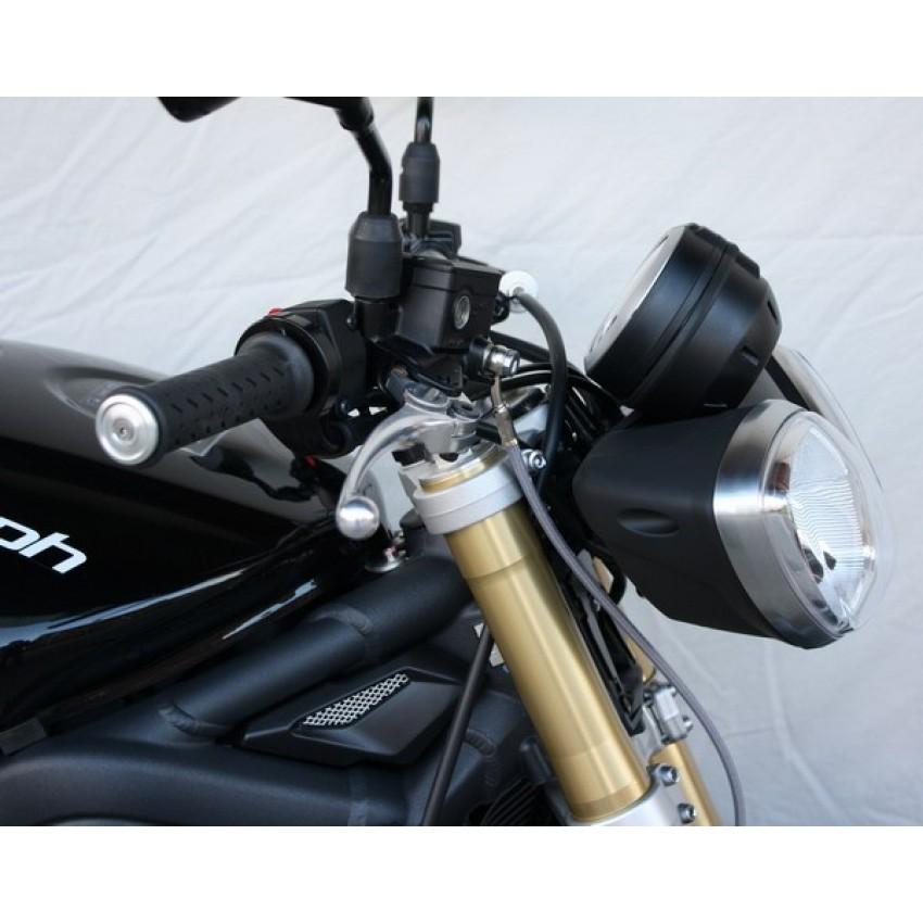 Support compteur/phares GSG - Street Triple 675 2011-13 - Triumph