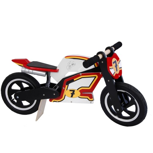 Draisienne bois Kiddimoto Heroes Barry Sheene