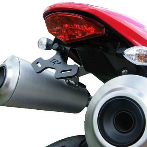 Support de plaque Evotech Performance 696-796-1100 - Monster - Ducati