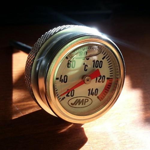 Bouchon d'huile/jauge de température 24x3mm/69mm - Honda