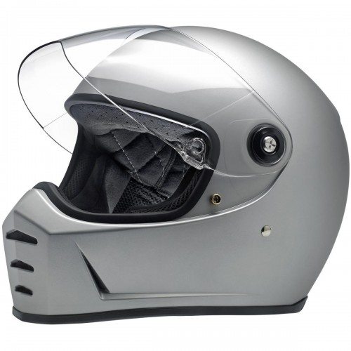 Casque Biltwell Lane Splitter gris mat