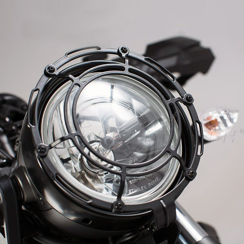 grille de phare sw motech xsr 700 yamaha krax moto. Black Bedroom Furniture Sets. Home Design Ideas
