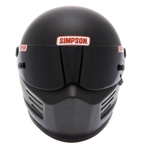 Destockage Casque Simpson Bandit noir mat Taille XL