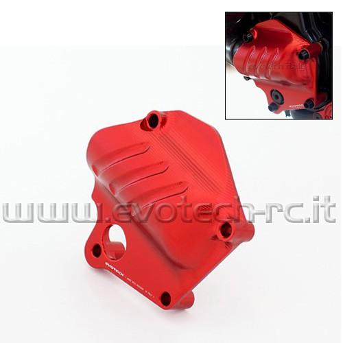Protection de pompe à eau Alu Evotech - Diavel - Ducati