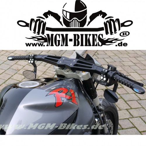 "Guidon usiné MGM Bikes ""Dragster"""