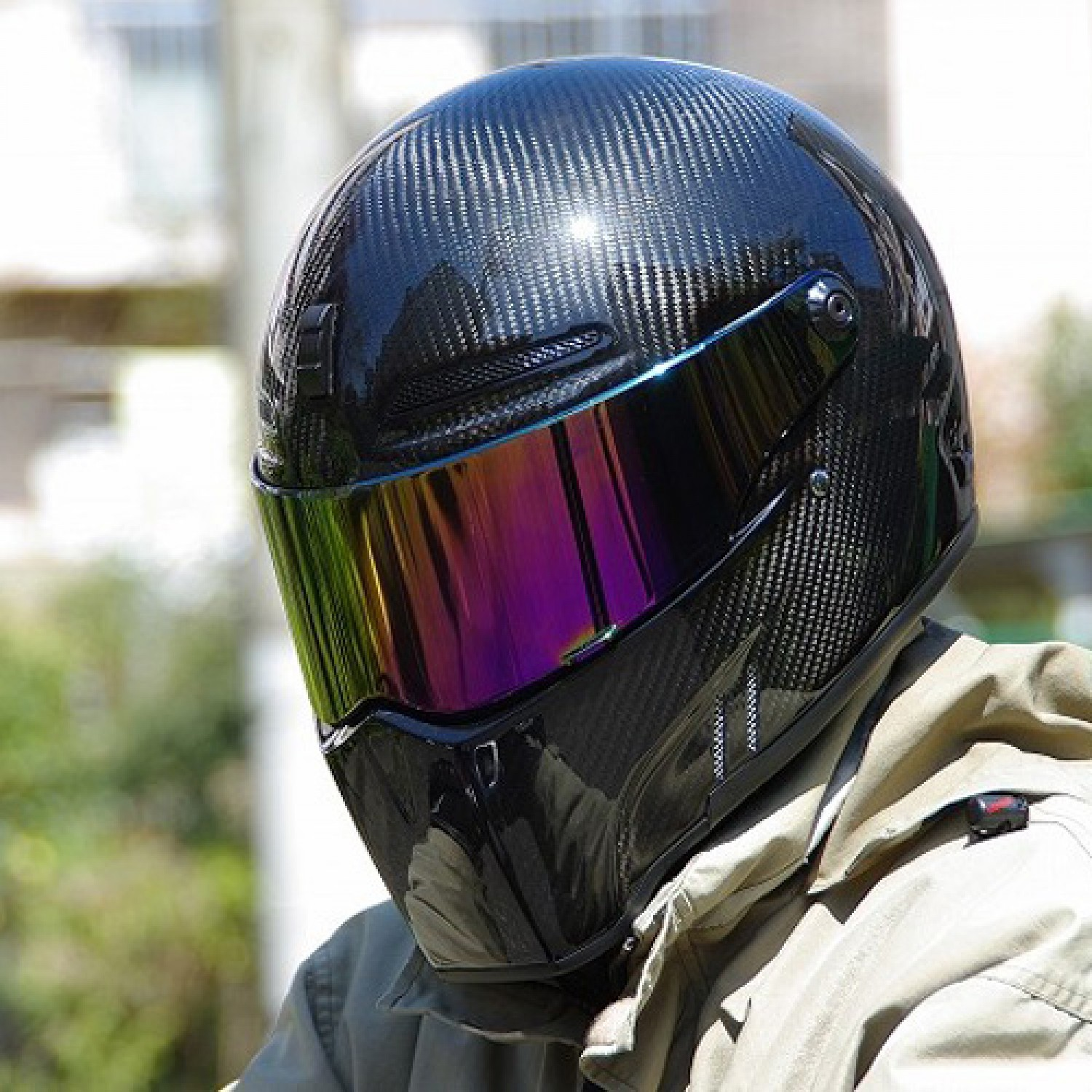 casque bandit visi re iridium alien ii fighter exx krax moto. Black Bedroom Furniture Sets. Home Design Ideas