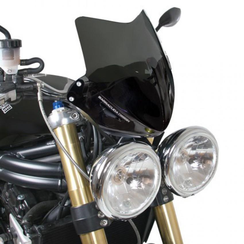 saute vent barracuda 2005 10 speed triple triumph krax moto. Black Bedroom Furniture Sets. Home Design Ideas