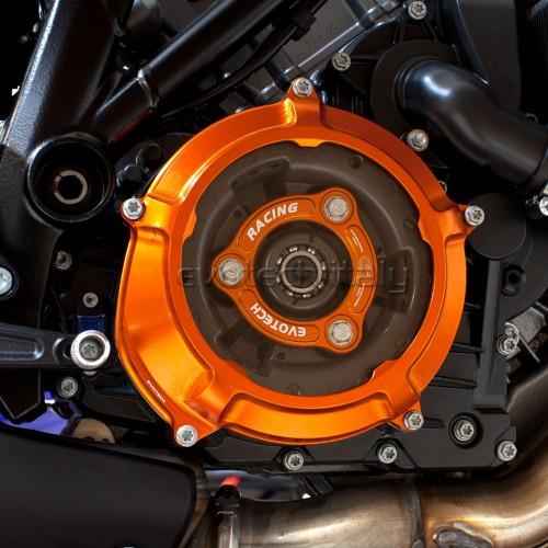 Carter d'embrayage transparent + plateau de pression Evotech - Superduke 1290 - KTM