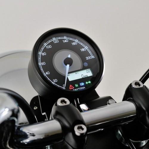 Compteur/Compte-tours Daytona Velona D.80mm - 200 Km/h