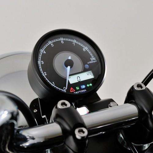 Compte-tours/compteur Daytona Velona D.80mm - 9000 trs/min