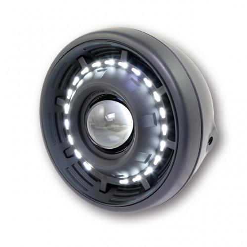 Phare lenticulaire Cyclops avec anneau à leds