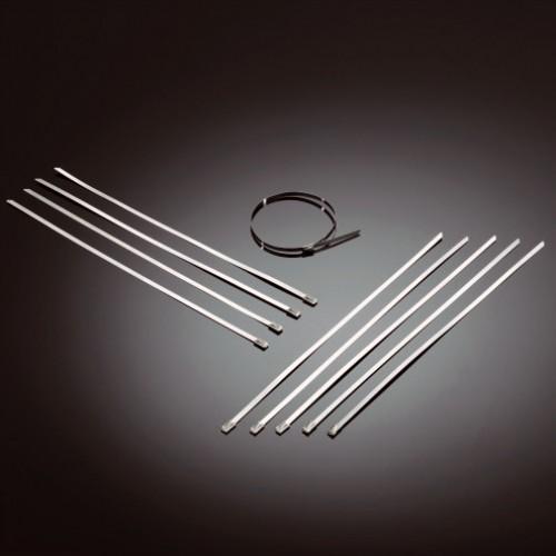 Colliers inox pour bande thermique (10 pièces)