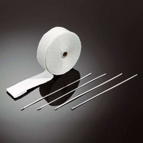 Bande thermique blanche (15m) avec colliers