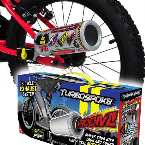 Kit échappement sonore TurboSpoke pour vélos