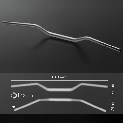 Guidon ABM Streetbar Booster 28mm