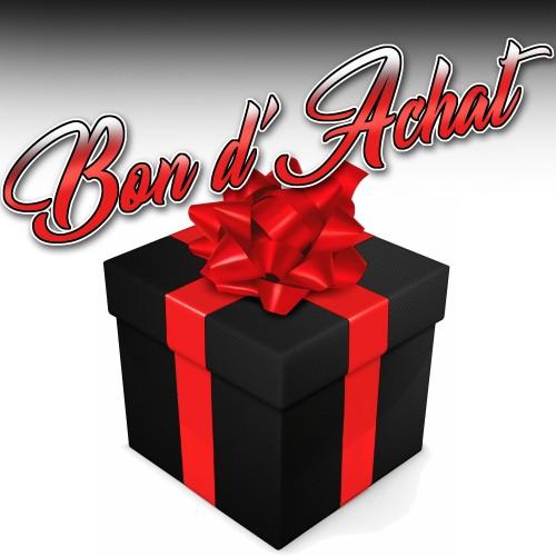 Bon d'achat cadeau à offrir