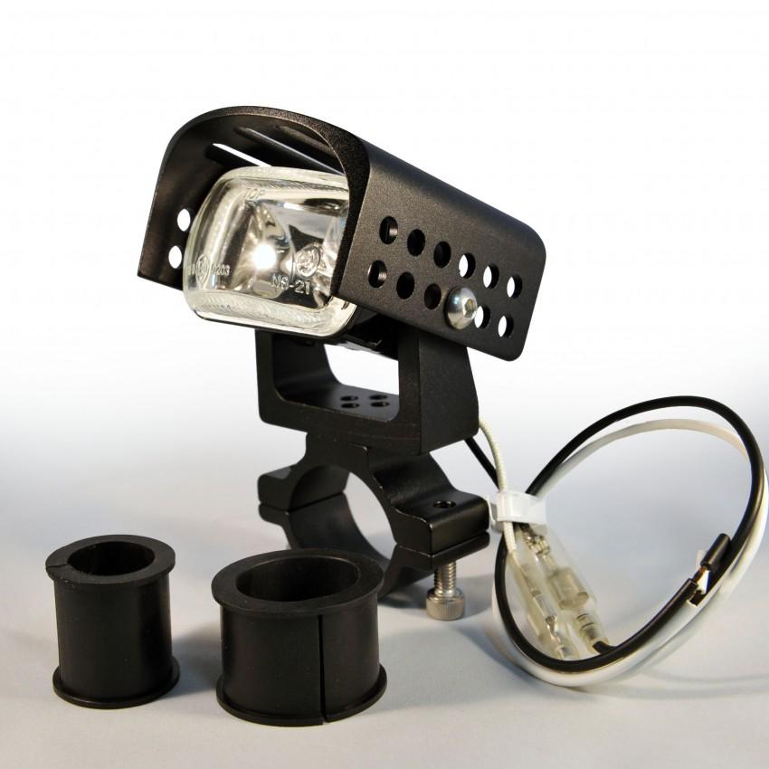Optique antibrouillard additionnel spotlight Highway Hawk noir