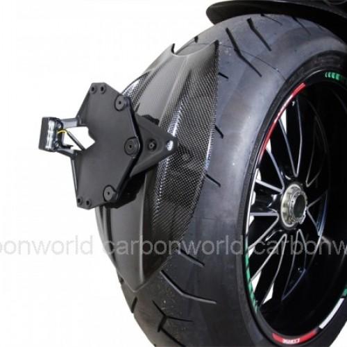 Garde boue arrière 2 carbone - Diavel - Ducati