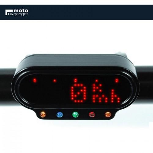 """Cuvelage """"Combi"""" avec voyants pour Motogadget Motoscope mini"""