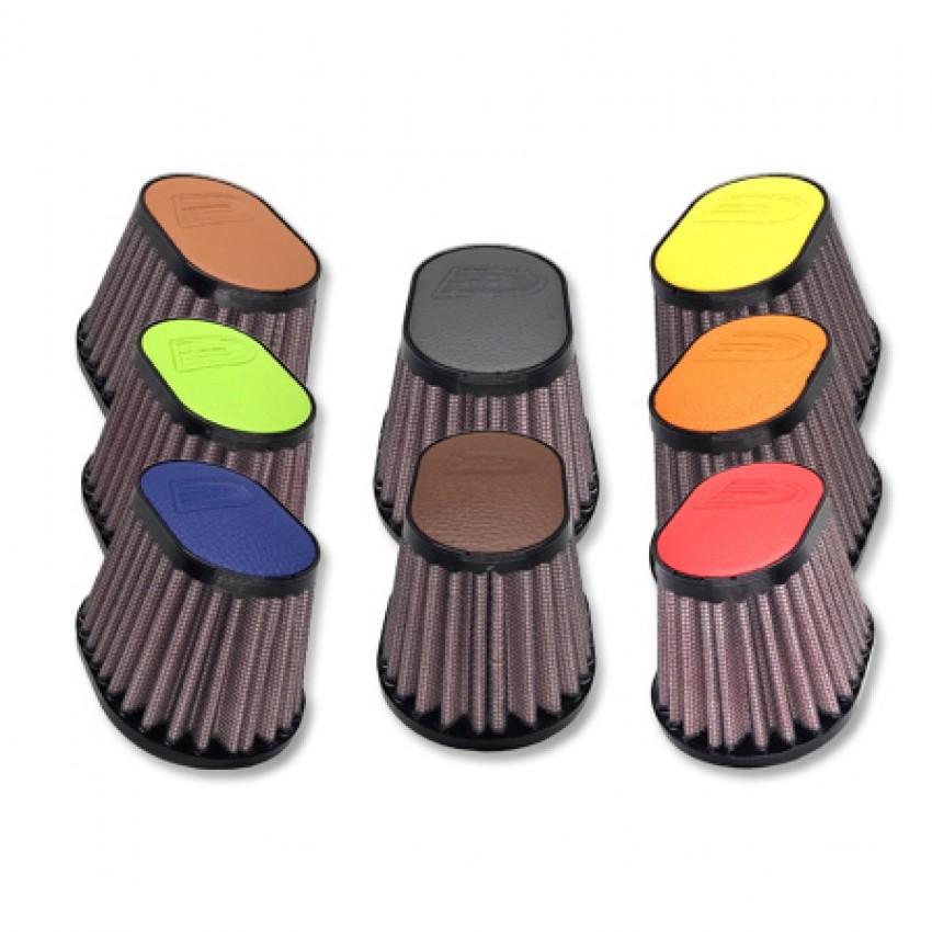 Filtre à air DNA individuel Oval D.38mm (8 coloris)