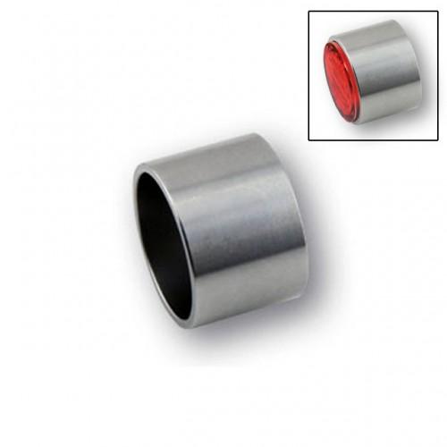 """Cuvelage Highsider acier cnc soudable pour feux et clignotants """"PIN"""""""