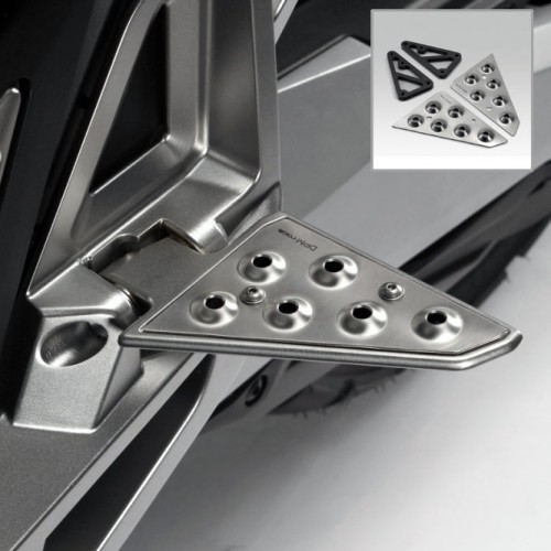 Platines inox antidérapantes DePretto Moto - X-ADV - Honda