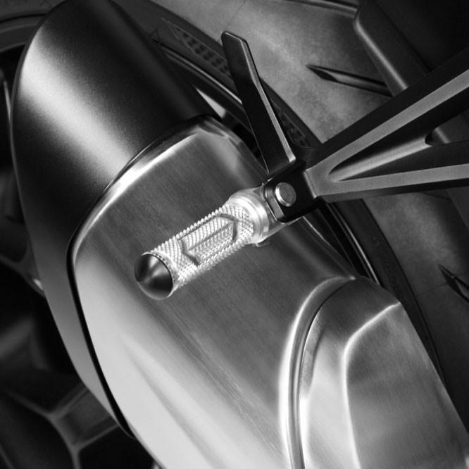 Moto Repose-Pieds Levier de frein moto arri/ère P/édale compatible avec Honda CB500X 2019 2020 Agrandir Extension Peg plaquettes de frein arri/ère Extender CB 500X CB500 X Prise stable Color : Silver