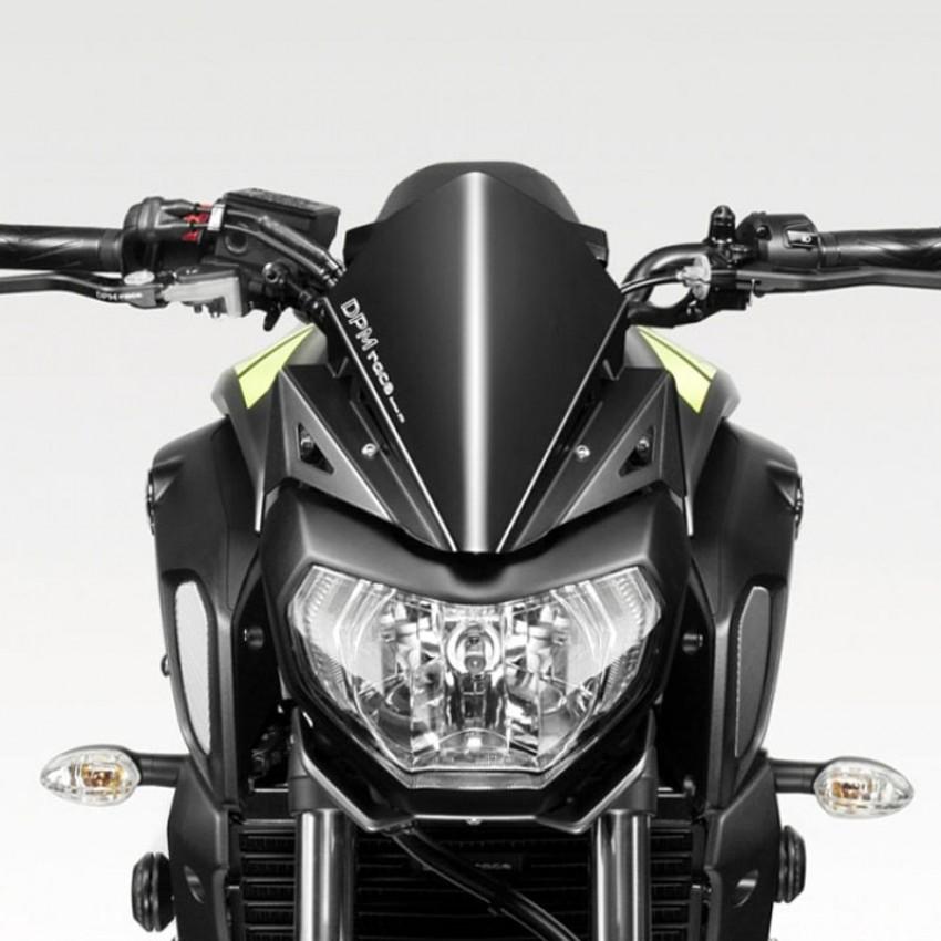 "Saute vent alu DePrettoMoto ""Warrior"" - MT07 2018 - Yamaha"
