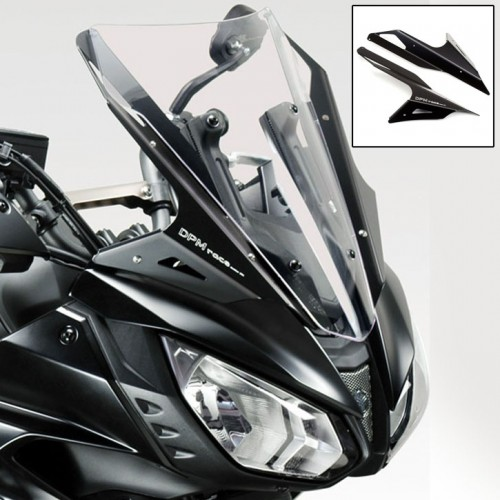 Kit déflecteurs alu DePrettoMoto - MT-07 Tracer 2017-18 - Yamaha