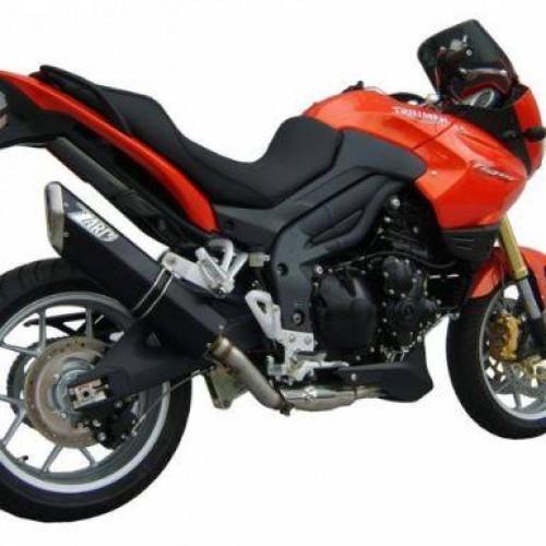Destockage: Silencieux Zard homologué carbone/inox - Tiger 1050 2006-12 - Triumph