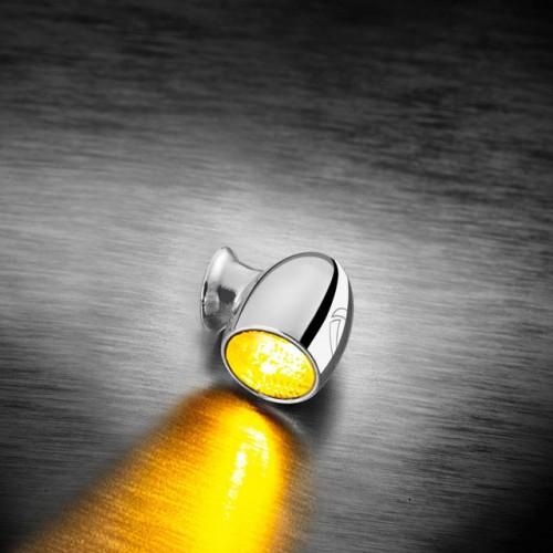Clignotants à leds Kellermann Bullet Atto Chrome (paire)