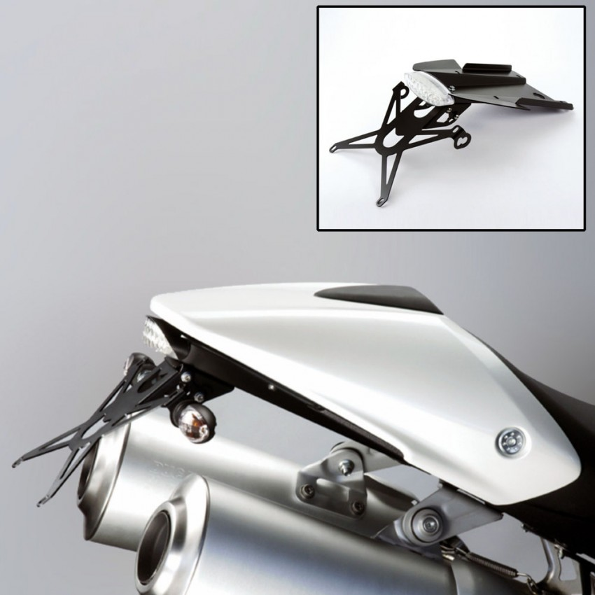 Support de plaque DePrettoMoto - Monster 696-796 - Ducati
